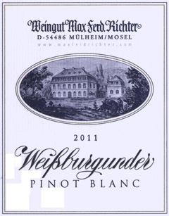 Richter Weisser Burgunder, Rulandské bílé - moselské víno, Německo