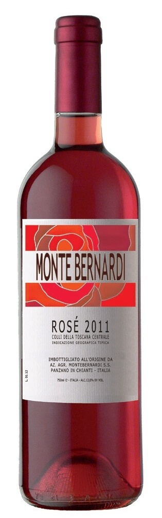 Monte Bernerdi Rosé, červené víno Chianti Classico - Itálie